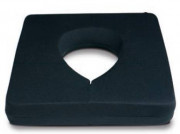 Coussin visage mémoire de forme  - Dimensions : 29 x 25 x 4 cm