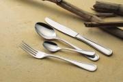 Couteau à beurre 'Contour' monocoque en inox - Epaisseur : 25/10e - Poids : 0,06 Kg - Inox 18/10