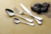 Couteau à steak 'London' monobloc ou monocoque, en inox 18/10 - 2 versions au choix: en monobloc ou en monocoque