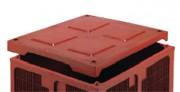 Couvercle clipsable pour caisses-palettes 650 L - 61651