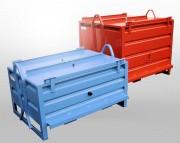 Couvercle métallique pour caisse palette - Couvercle étanche
