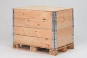 Couvercle pour rehausses bois - Couvercle aggloméré ép. 9 mm avec 2 fixations, 31120