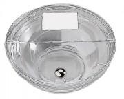 Couvercle transparent pour bol verre Diam 23,5 cm - Diamètre : 23.5 cm - poids : 0.18 kg