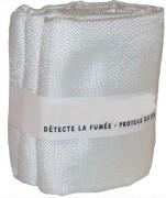 Couverture anti feu en fibre de verres - Poids en produit 350 g  -  Dim :  1,2mm x 1,2mm