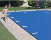 Couverture de sécurité pour piscine - Conforme à la norme NF P 90-308