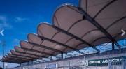 Couverture de tribune de stade - Abris en toile PVC