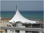 Couverture en métallo-textile pour terrasse et piscine - Etude et conception sur mesure de couverture terrasse métallo-textiles