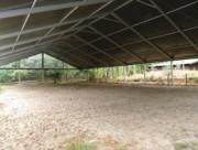 Couverture manège chevaux - Toile de polyester plastifié 650 Gr/m² ignifuge M2