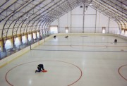 Couverture terrain multisport en toile carbone translucide - Abri pour terrain de sport - Bâtiments et couvertures de terrains de sports