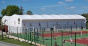 Couverture terrains de tennis - Textile technique et fiable