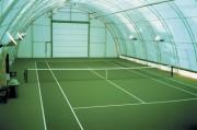Couverture toile et acier pour terrain tennis - L'immobilier rapide au meilleur prix - Abri tennis