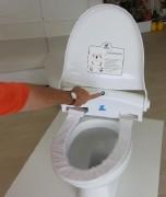 Couvre siege wc automatique - Pour les toilettes partagées dans un cadre public.