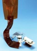 Couvre tubes de perfusion ambrés - 7617