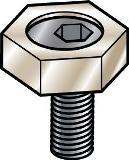 Crampons de serrage cylindrique à vis M 16 - Réf. MB-026