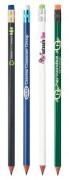 Crayons publicitaires personnalisés - Impression sérigraphie corps : Jusqu'à 2 couleurs