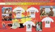 Création t-shirt personnalisé - Tee-shirts personnalisés avec différentes matières attrayantes