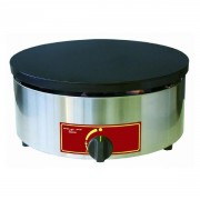 Crêpière à 1 plaque à gaz - Dimensions : 400 x 200 mm - Puissance : 3.6 Kw
