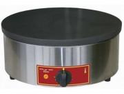 Crêpière à 1 plaque électrique - Dimensions (Ø  x h) : 400 x 200 mm / Puissance :  3,6 Kw - 230V/1