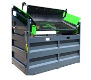 Crible de chantier stage 1 - Disponible en Monophasé 240 V ou Triphasé 400 V