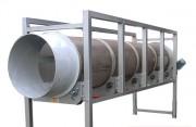 Crible rotatif - Diamètre : 800 ou 1600 mm - Longueur : 3000 ou 4000 mm