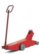 Cric rouleur air-hydraulique à châssis haut - Réf 503000080