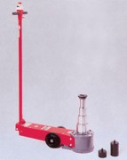 Cric rouleur oléopneumatique pour poids lourds à essieux hauts - Réf 007135366