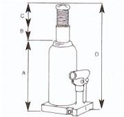 Crics hydrauliques 100 Tonnes - Hydrofor système hydraulique