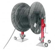 Crics pour tourets de câble - Charge autorisée (t) : tête 8 - Sabot 7