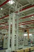 Crinoline pour accès en hauteur sur équipement industrie - Concept exclusif de « pré-montage »