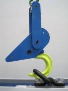 Crochet automatique levage - Capacité de charge : Jusqu'à 20 tonnes