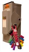 Crochet de consignation - Permettent la condamnation simultanée de plusieurs employés sur un même équipement