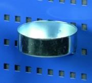 Crochet porte-outils panneau - R33 - Hauteur (mm) : 30 - Diamètre (mm) : 90