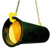 Crochet pour tuyaux - Charge maximale utile (kg) : 1000 - 2500 - 5000 - 7500