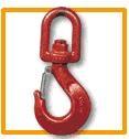Crochets à émerillon et linguet de sécurité - CMU : 0,5 à 10 T