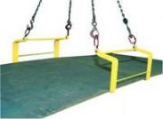 Crochets doubles pour plaques horizontales QR utilisation par paire - QR utilisation par paire