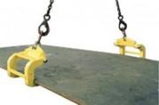 Crochets doubles pour séparation et levage de plaques horizontales