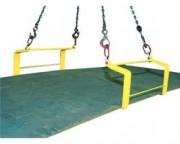 Crochets doubles pour toles - QR-Crochets doubles pour levage de plaques horizontales