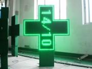 Croix de pharmacie à diodes