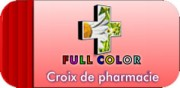 Croix de pharmacie à LED automatique - Croix de pharmacie double face à diodes led