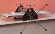 Croûteuse de table - Dimensions plan de travail (mm) : 700 x 400 - 1000 x 500