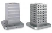 Cube de bridage en fonte - Pour centre d'usinage horizontal
