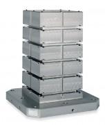Cube de bridage rainuré - En fonte FC300 (JIS) / GG30 (DIN)