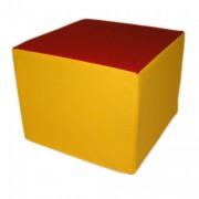 Cube en mousse d'initiation - Dimensions : 50 x 50 x 40cm
