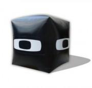 Cube gonflable publicitaire - Dimensions :1m, 1,5m ou 2m de côté