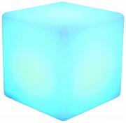 Cube lumineux à LED - Dimensions ( L x l x H )  : 40  x 40 x 40 cm - 16 coloris d'éclairage aux choix