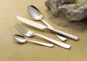 Cuillère à dessert en inox Flat - Epaisseur : 25/10e - Poids : 0,04 Kg - Inox 18/10