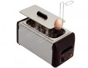 Cuiseur à oeufs inox - Capacité : 10 paniers