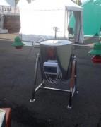 Cuiseur vapeur électrique inox 150L - Cuve de 150 L avec double paroi