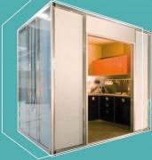 Cuisine préfabriquée - Poids spécifique : 1.100 Kg/mc - isolement acoustique : Db 50