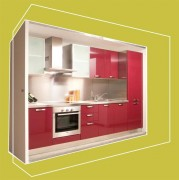Cuisine préfabriquée béton léger armé - Poids spécifique : 1.600 Kg/mc - isolement acoustique : Db 36